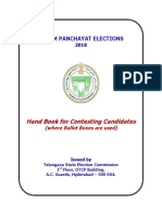 Hand Book for Contesting Candidates - GPs 223