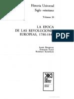 Bergson; Furet; Koselleck-Las Revoluciones Europeas 1780-1848- Part 1