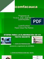 73483644 Etapas Para La Elaboracion de Un Texto Reducida