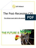 Post Recession CIO 5 Things to Get Right in 2010