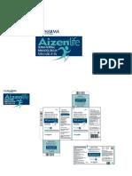 AIZEN- life ® normal immunoglobulin 50 mg (purity of at least 95% IgG)_ PACK AND LABEL -TAJ PHARMA