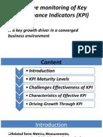Driving Growth Through KPI Monitoring