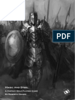 RPG Magic & Steel