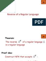 SEM05-Reverse of a Regular Language