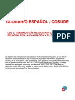 Glosario de Terminos Del Evaluacion & Controlling