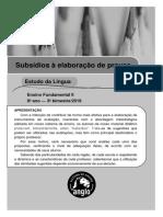Estudos da língua portuguesa
