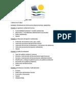 Curso Peritaje - Estructura Propuesta