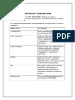 Listar La Normatividad de La Materia Prima (Autoguardado)