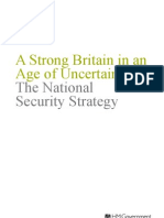 The National Security Strategy