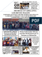 11 de Enero 2018 periódico impreso