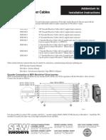 SEW Encoder Syst.man. Addendum Hoist VFD