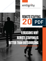 Remote Staffing vs Outsourcing