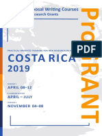2610 ProGRANT Call Costa Rica