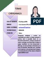Marly Tomas Carhuamaca Cv