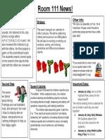 newsletter 1 11 19