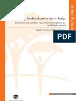 Biodiesel Prodn in Kenya