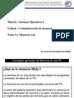 Tema 3.2 Memoria Real