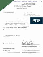 Stephen Jenson Criminal Complaint