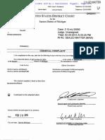 Steven Germinder Criminal Complaint