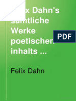 Felix Dahn poems