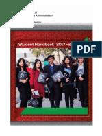 StudentHandbook2017-18