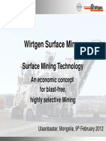 Wirtgen Surface Miner