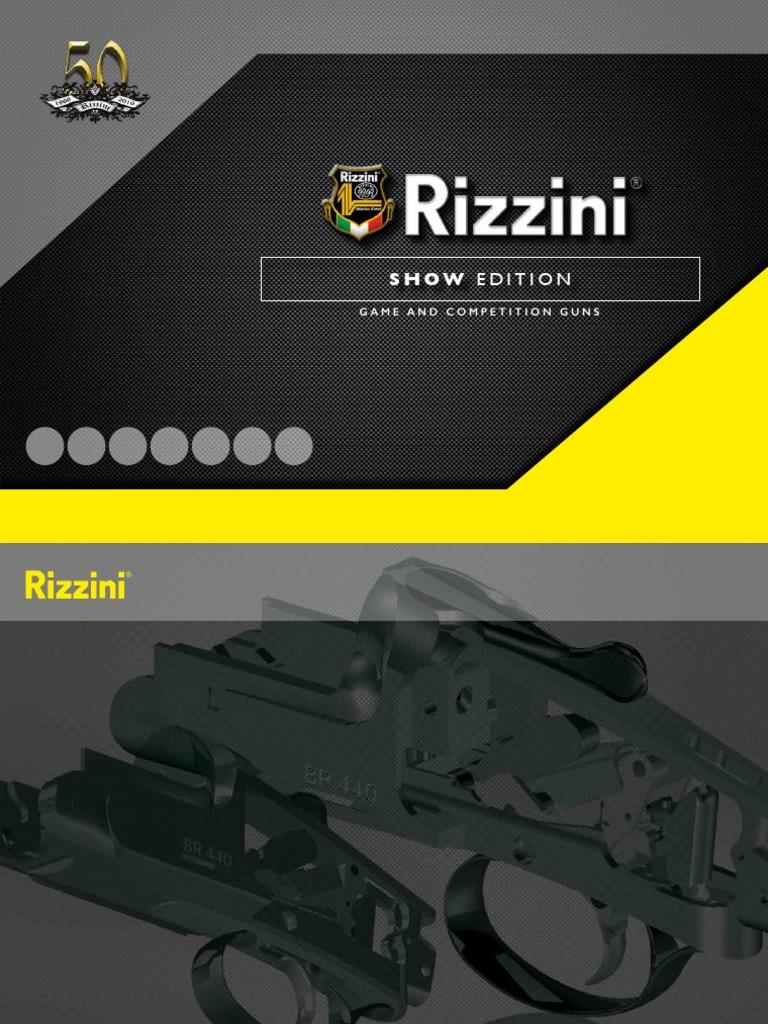 Rizzini-Catalogo-2016.pdf | Shotgun | Marksmanship