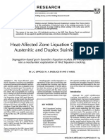 HAZ liquation cracking in austenitic and duplex s.s. - J.C. Lippold.pdf