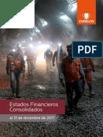 Estados Economicos Financieros Codelco 2017
