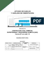 Informe - Estudio Sao Buenaventura Alterno Julio 28 2014