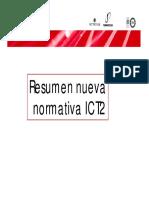 Resumen Nueva Normativativa ICT-2