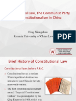 Chinese constitutional law
