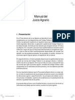 Manual Del Juicio Agrario Con Formatos
