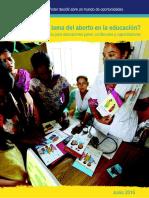 IPPF PeerEducationGuide Abortion Spanish