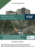 East Haven Apartments presentation