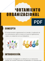 Comportamiento Organizacional Psicologia