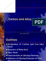 Presentation of Carbon and Alloy Steels