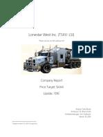 Lonestar West Inc. (TSXV- LSI) Analysis LSIF
