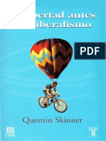 Skinner Quentin La Libertad Antes Del Liberalismo 2 1 PDF (1)