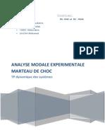Rapport Du Tp Dynamique