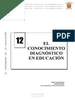 U.D. 12 EL CONOCIMIENTO DIAGNOSTICO EN LA EDUCACION