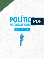 Documento Política Nacional Urbana (PNU) de la República Argentina