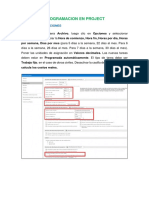 Manual de Programación de Obra en Microsoft Project 2016