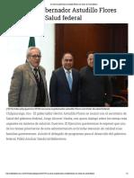 10-01-2019 Se reúne el gobernador Astudillo Flores con titular de Salud federal.