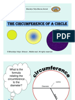 Discovering Circumference