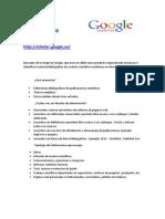 Citas en Google Scholar