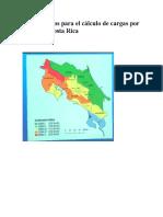 Lineamientos Para El Cálculo de Cargas Por Viento en Costa Rica