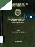 Metodología Para La Justicación de Pasos Peatonales a Desnivel