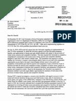 Nov. 27 OCR Letter