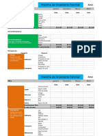 Planilha Orçamento Familiar